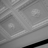 Ornate Plaster Panels For Suspended Ceiling