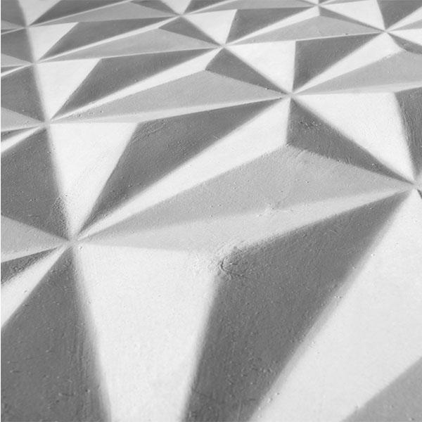 Modular plaster coverings