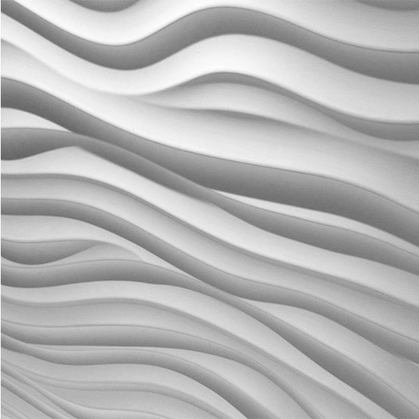 Decorated continuous surfaces