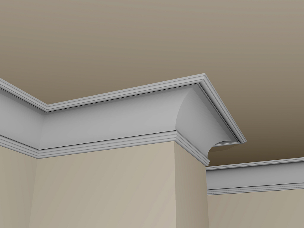022765 cornice in gesso plasterego your creative partner for Cornici polistirolo