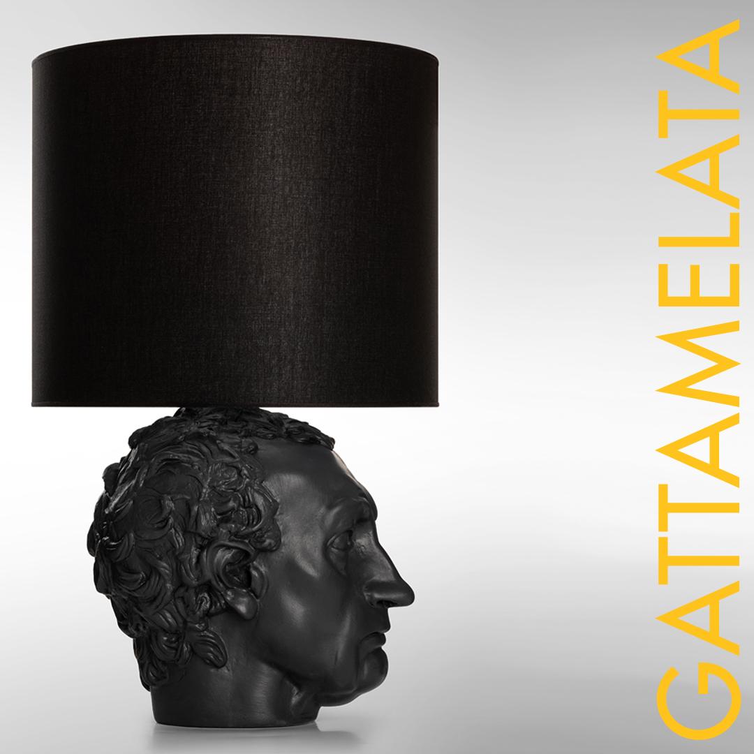 Ecco La Nuova Lampada Da Tavolo Con Paralume In Tessuto Gattamelata Plasterego Your Creative Partner